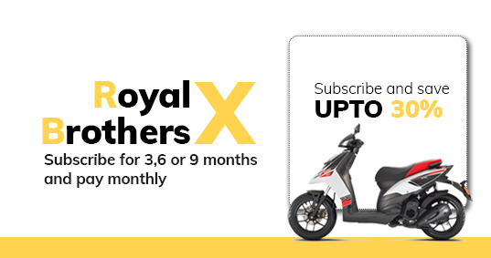 RoyalBrothersX offer