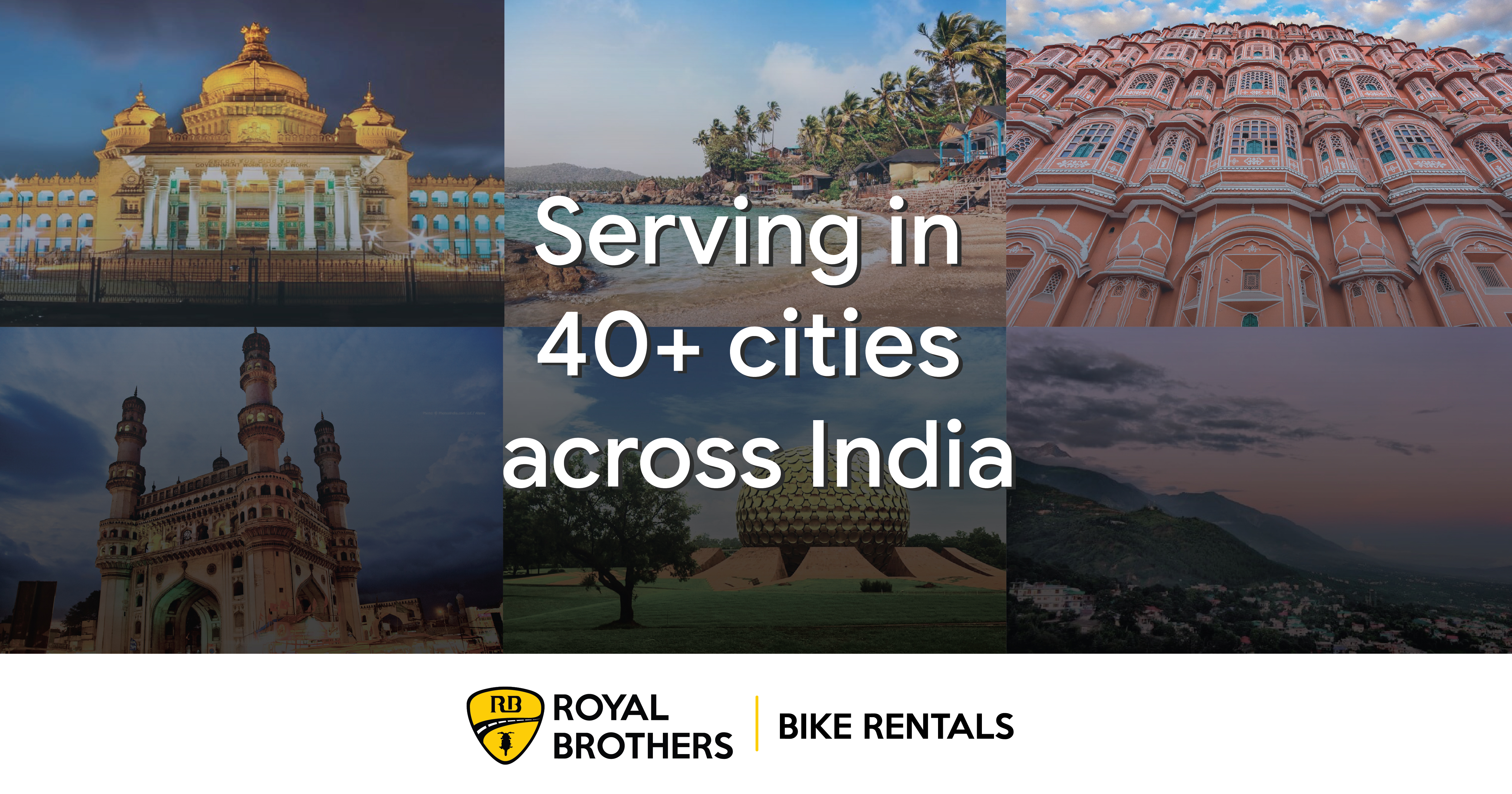 Bike Rentals | Two Wheelers for Rent | Royal Brothers